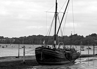 Sailing Barge in Suffolk